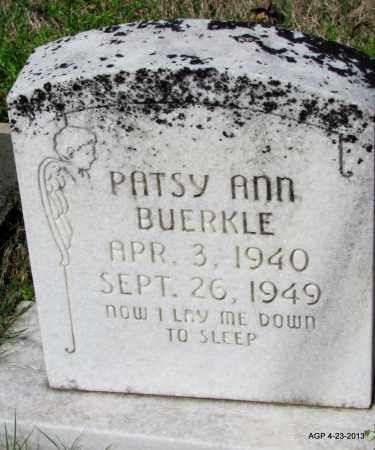 BUERKLE, PATSY ANN - Arkansas County, Arkansas | PATSY ANN BUERKLE - Arkansas Gravestone Photos