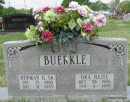 BUERKLE, SR, HERMAN G - Arkansas County, Arkansas | HERMAN G BUERKLE, SR - Arkansas Gravestone Photos