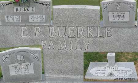 BUERKLE, W LAVERNE (FAMILY GROUP) - Arkansas County, Arkansas | W LAVERNE (FAMILY GROUP) BUERKLE - Arkansas Gravestone Photos