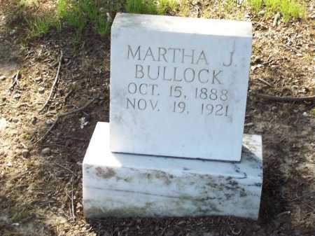 BULLOCK, MARTHA JANE - Arkansas County, Arkansas | MARTHA JANE BULLOCK - Arkansas Gravestone Photos