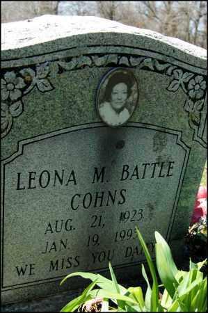 COHNS, LEONA M, - Arkansas County, Arkansas | LEONA M, COHNS - Arkansas Gravestone Photos