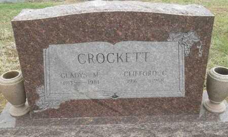 CROCKETT, GLADYS M - Arkansas County, Arkansas | GLADYS M CROCKETT - Arkansas Gravestone Photos