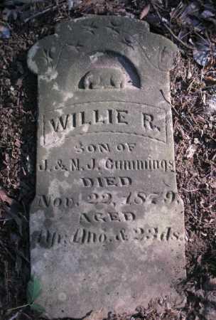CUMMINGS, WILLIE R - Arkansas County, Arkansas | WILLIE R CUMMINGS - Arkansas Gravestone Photos