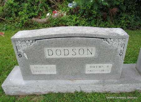 DODSON, THELMA R (CLOSE UP) - Arkansas County, Arkansas | THELMA R (CLOSE UP) DODSON - Arkansas Gravestone Photos