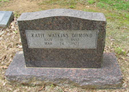 DUMOND, KATIE - Arkansas County, Arkansas | KATIE DUMOND - Arkansas Gravestone Photos