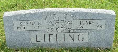 EIFLING, HENRY J - Arkansas County, Arkansas   HENRY J EIFLING - Arkansas Gravestone Photos