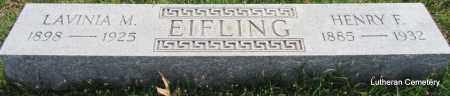 EIFLING, LAVINIA M - Arkansas County, Arkansas | LAVINIA M EIFLING - Arkansas Gravestone Photos