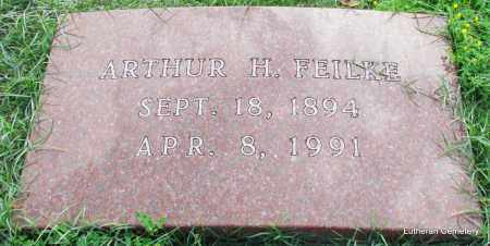 FEILKE, ARTHUR H - Arkansas County, Arkansas | ARTHUR H FEILKE - Arkansas Gravestone Photos