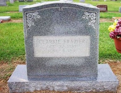 FRAZIER, CLARKIE - Arkansas County, Arkansas | CLARKIE FRAZIER - Arkansas Gravestone Photos