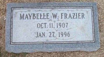 WRIGHT FRAZIER, MAYBELLE - Arkansas County, Arkansas | MAYBELLE WRIGHT FRAZIER - Arkansas Gravestone Photos