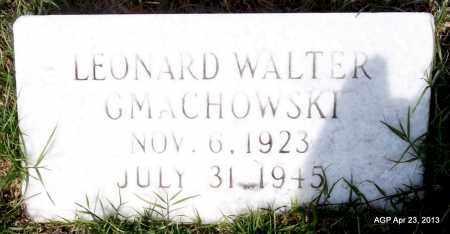 GMACHOWSKI, LEONARD WALTER - Arkansas County, Arkansas | LEONARD WALTER GMACHOWSKI - Arkansas Gravestone Photos