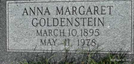 GOLDENSTEIN, ANNA MARGARET - Arkansas County, Arkansas | ANNA MARGARET GOLDENSTEIN - Arkansas Gravestone Photos