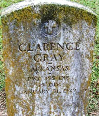 GRAY (VETERAN), CLARENCE - Arkansas County, Arkansas   CLARENCE GRAY (VETERAN) - Arkansas Gravestone Photos