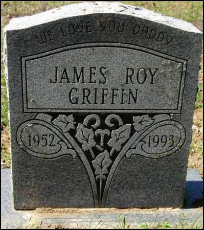 GRIFFIN, JAMES ROY - Arkansas County, Arkansas   JAMES ROY GRIFFIN - Arkansas Gravestone Photos