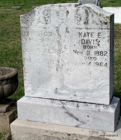 HAHN, KATE E - Arkansas County, Arkansas | KATE E HAHN - Arkansas Gravestone Photos