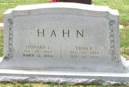 HAHN, EDNA E. - Arkansas County, Arkansas | EDNA E. HAHN - Arkansas Gravestone Photos