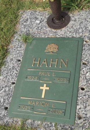 HAHN, MARION LOUISE - Arkansas County, Arkansas | MARION LOUISE HAHN - Arkansas Gravestone Photos