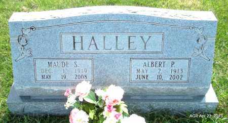 HALLEY, MAUDE S - Arkansas County, Arkansas | MAUDE S HALLEY - Arkansas Gravestone Photos