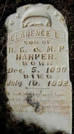 HARPER, CLARENCE L. - Arkansas County, Arkansas | CLARENCE L. HARPER - Arkansas Gravestone Photos