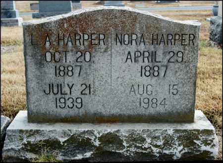 HARPER, NORA - Arkansas County, Arkansas | NORA HARPER - Arkansas Gravestone Photos