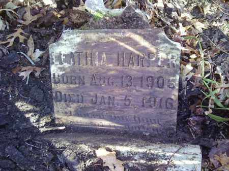 HARPER, LEATHIA - Arkansas County, Arkansas | LEATHIA HARPER - Arkansas Gravestone Photos