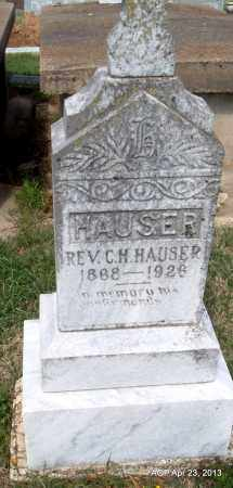HAUSER, C H, REV - Arkansas County, Arkansas | C H, REV HAUSER - Arkansas Gravestone Photos
