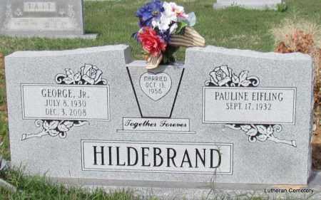 HILDEBRAND, JR, GEORGE - Arkansas County, Arkansas   GEORGE HILDEBRAND, JR - Arkansas Gravestone Photos