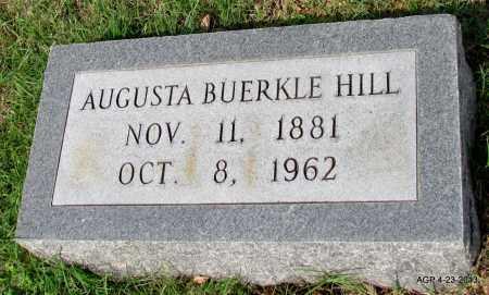 BUERKLE HILL, AUGUSTA - Arkansas County, Arkansas | AUGUSTA BUERKLE HILL - Arkansas Gravestone Photos