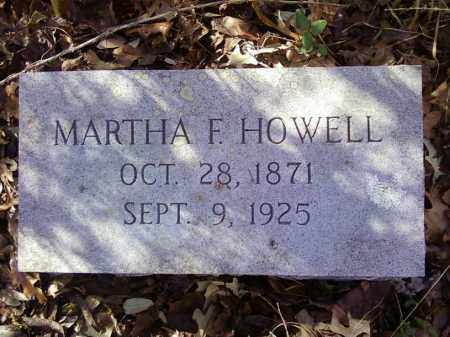HOWELL, MARTHA F - Arkansas County, Arkansas | MARTHA F HOWELL - Arkansas Gravestone Photos