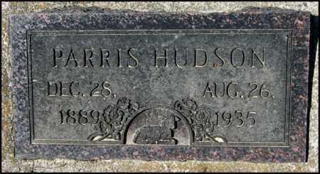 HUDSON, PARRIS - Arkansas County, Arkansas   PARRIS HUDSON - Arkansas Gravestone Photos