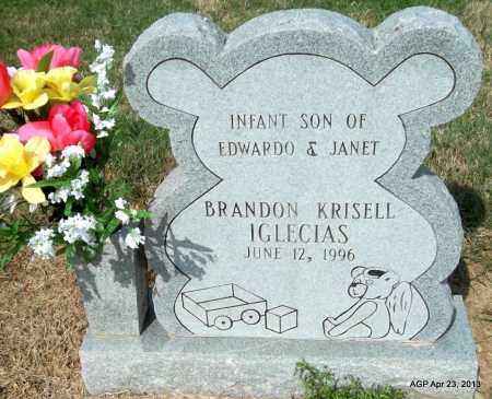 IGLECIAS, BRANDON KRISELL - Arkansas County, Arkansas | BRANDON KRISELL IGLECIAS - Arkansas Gravestone Photos