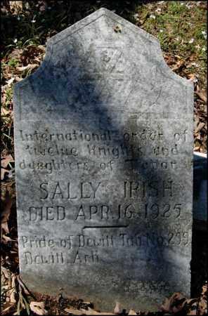 IRISH, SALLY - Arkansas County, Arkansas | SALLY IRISH - Arkansas Gravestone Photos