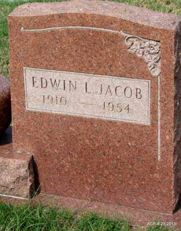 JACOB, EWIN L - Arkansas County, Arkansas | EWIN L JACOB - Arkansas Gravestone Photos