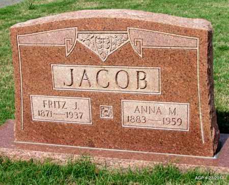 JACOB, ANNA M - Arkansas County, Arkansas | ANNA M JACOB - Arkansas Gravestone Photos