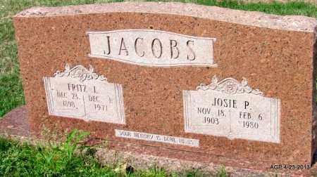 JACOBS, FRITZ L - Arkansas County, Arkansas | FRITZ L JACOBS - Arkansas Gravestone Photos