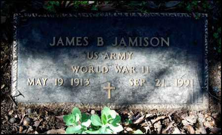JAMISON (VETERAN WWII), JAMES B - Arkansas County, Arkansas | JAMES B JAMISON (VETERAN WWII) - Arkansas Gravestone Photos