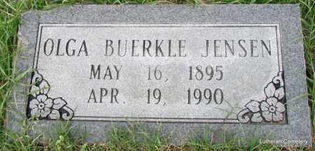 BUERKLE JENSEN, OLGA - Arkansas County, Arkansas | OLGA BUERKLE JENSEN - Arkansas Gravestone Photos