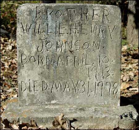 JOHNSON, WILLIE HENRY - Arkansas County, Arkansas | WILLIE HENRY JOHNSON - Arkansas Gravestone Photos