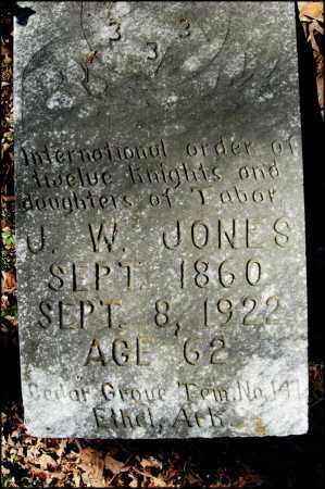 JONES, J. W. - Arkansas County, Arkansas | J. W. JONES - Arkansas Gravestone Photos