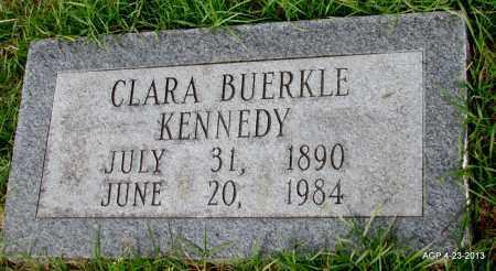 BUERKLE KENNEDY, CLARA - Arkansas County, Arkansas   CLARA BUERKLE KENNEDY - Arkansas Gravestone Photos