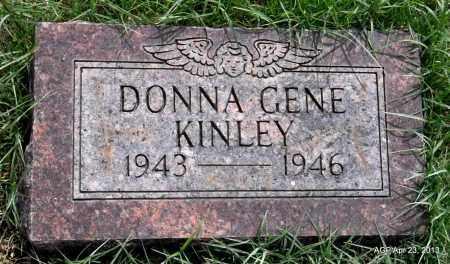 KINLEY, DONNA GENE - Arkansas County, Arkansas | DONNA GENE KINLEY - Arkansas Gravestone Photos