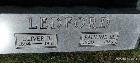 LEDFORD, PAULINE M - Arkansas County, Arkansas | PAULINE M LEDFORD - Arkansas Gravestone Photos