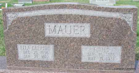 MAUER, ELLA - Arkansas County, Arkansas | ELLA MAUER - Arkansas Gravestone Photos