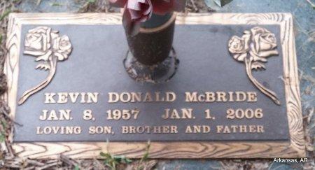MCBRIDE, KEVIN DONALD - Arkansas County, Arkansas   KEVIN DONALD MCBRIDE - Arkansas Gravestone Photos
