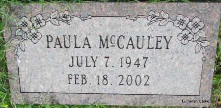 MCCAULEY, PAULA (CLOSE UP) - Arkansas County, Arkansas | PAULA (CLOSE UP) MCCAULEY - Arkansas Gravestone Photos