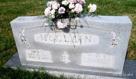 MCCLAIN, FRED J - Arkansas County, Arkansas | FRED J MCCLAIN - Arkansas Gravestone Photos