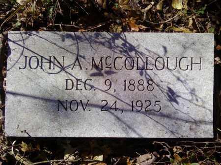 MCCOLLOUGH, JOHN A - Arkansas County, Arkansas   JOHN A MCCOLLOUGH - Arkansas Gravestone Photos