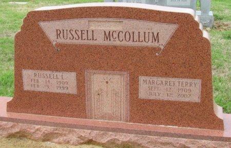 MCCOLLUM, RUSSELL L. - Arkansas County, Arkansas | RUSSELL L. MCCOLLUM - Arkansas Gravestone Photos