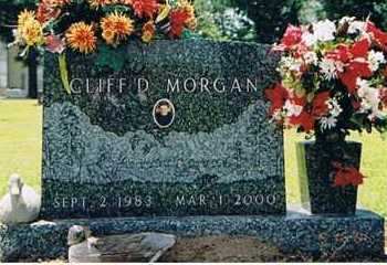 MORGAN, CLIFF D - Arkansas County, Arkansas | CLIFF D MORGAN - Arkansas Gravestone Photos