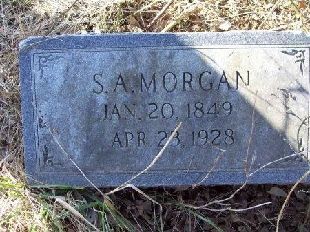 MORGAN, SAMUEL ADDISON - Arkansas County, Arkansas | SAMUEL ADDISON MORGAN - Arkansas Gravestone Photos